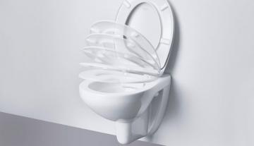 Крышки для унитазов в современном исполнении или что такое сиденье с микролифтом