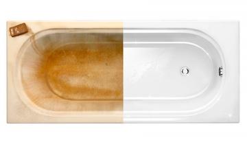 Реставрация старых ванн - новая сантехника с минимальными затратами
