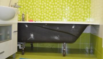 Замена старой ванны на новую. Во что обходится самый бюджетный вариант
